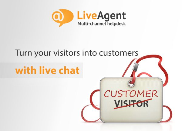 How to Turn Visitors Into Customers With Live Chat