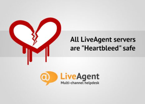 all liveagent servers are heartbleed safe