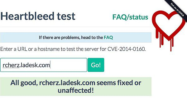 "All LiveAgent Servers Are ""Heartbleed"" Safe"
