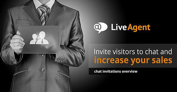 invite visitors to chat and increase your sales title