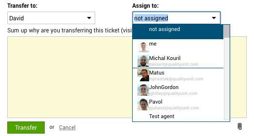 Unassigned Ticket