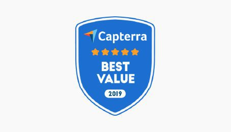 Best value for money on Capterra