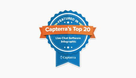 Le 4e chat le plus populaire de Capterra