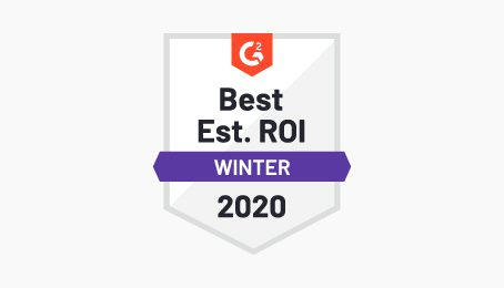Best ROI customer social service badge