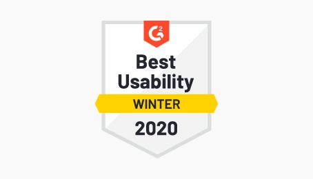 Best usability customer self service badge