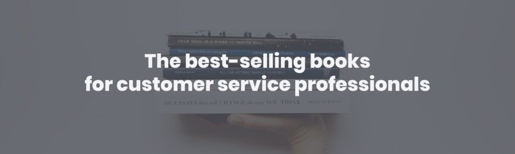 The best-selling books for customer service professionals