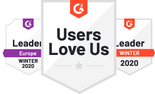 Users love us badges
