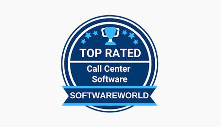 softwareworld call center badge