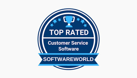 softwareworld customer service badge