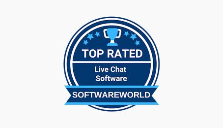 softwareworld badge du chat en direct