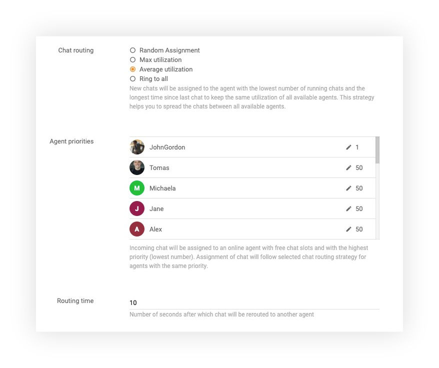 Chat-settings-LiveAgent
