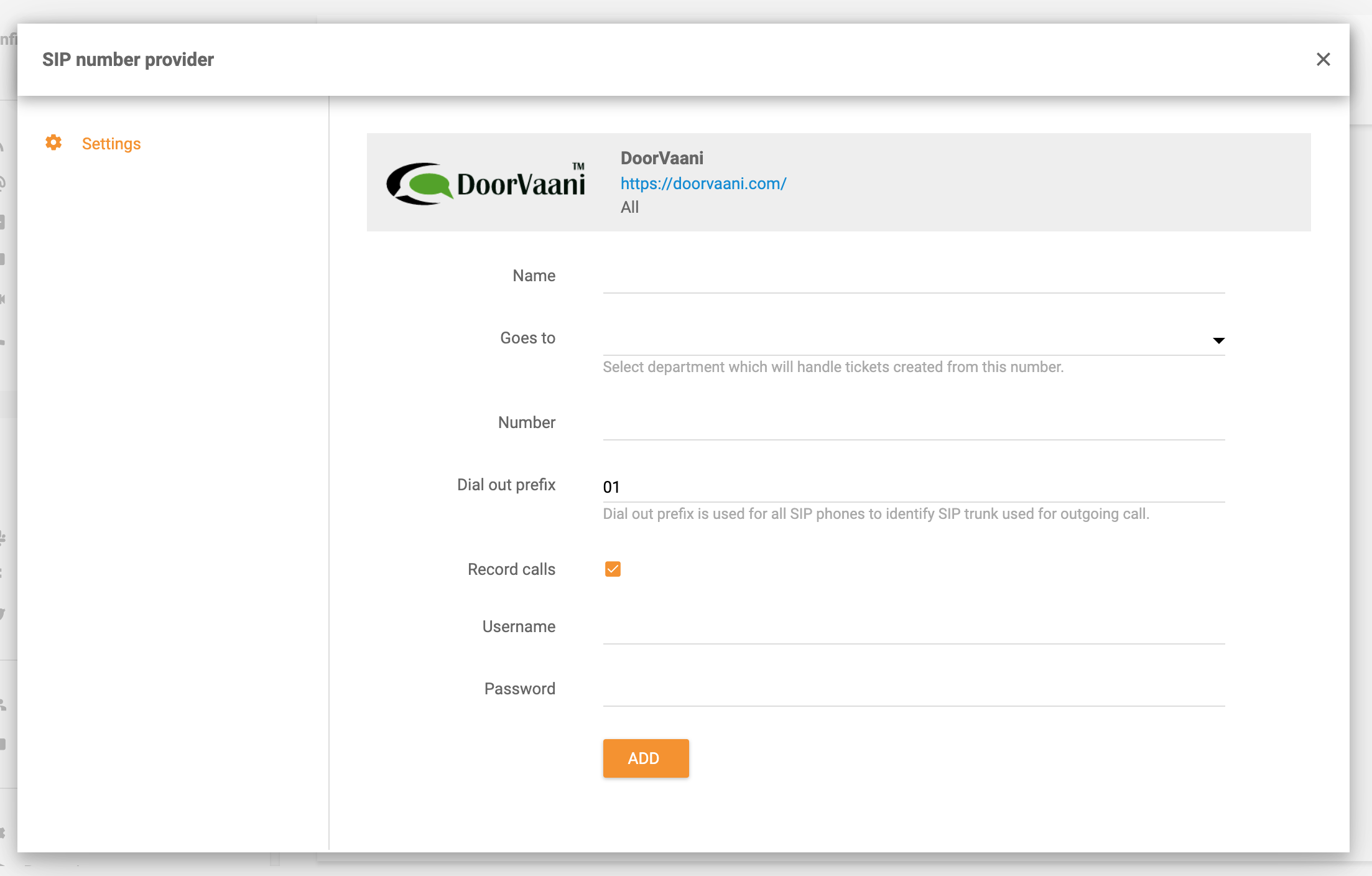 DoorVaani-integration-in-LiveAgent
