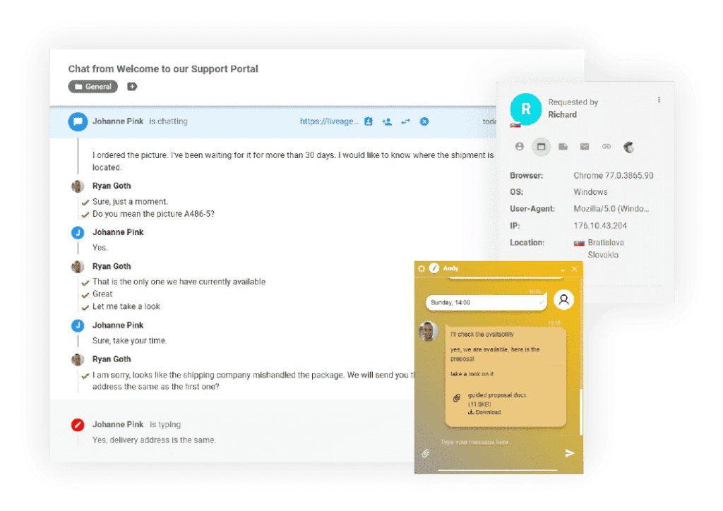Live-chat-for-business-LiveAgent
