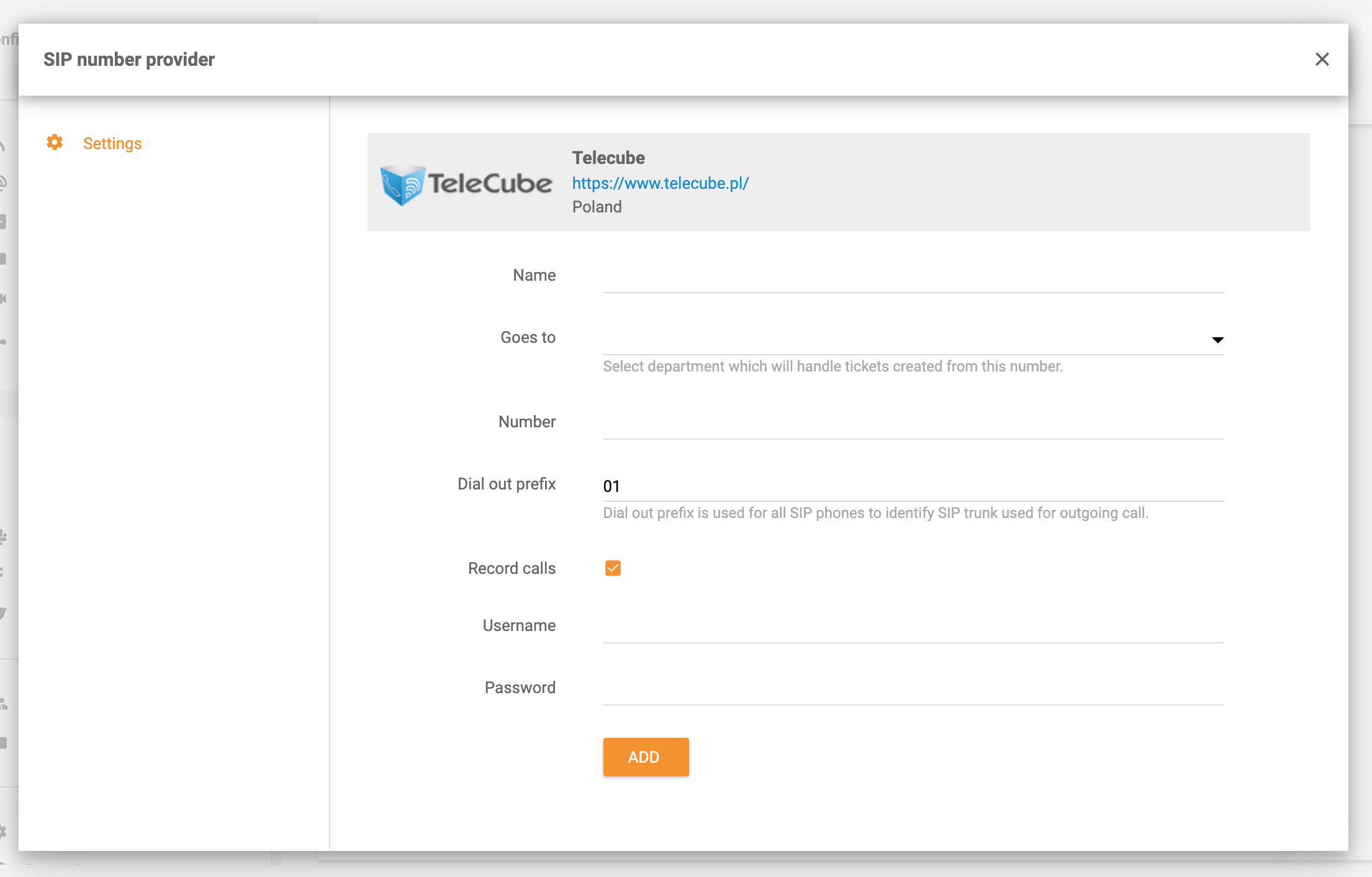 TeleCube-integration-in-LiveAgent
