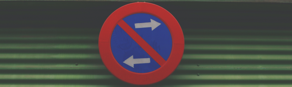 traffic signs to change directions