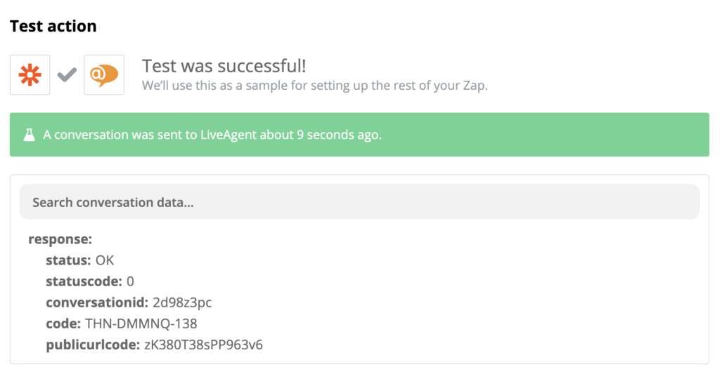 A successful test of LiveAgent and Shopify integration