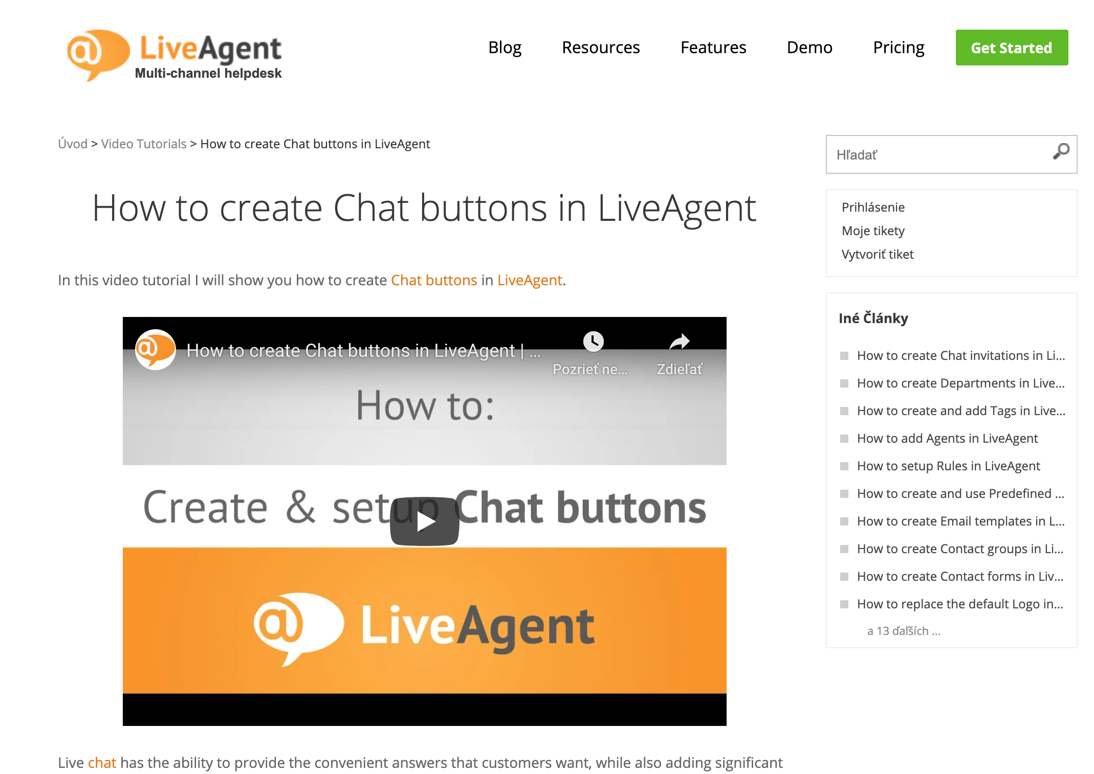 LiveAgent-Knowledgebase-aticle-example