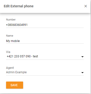 call routing to personal device1