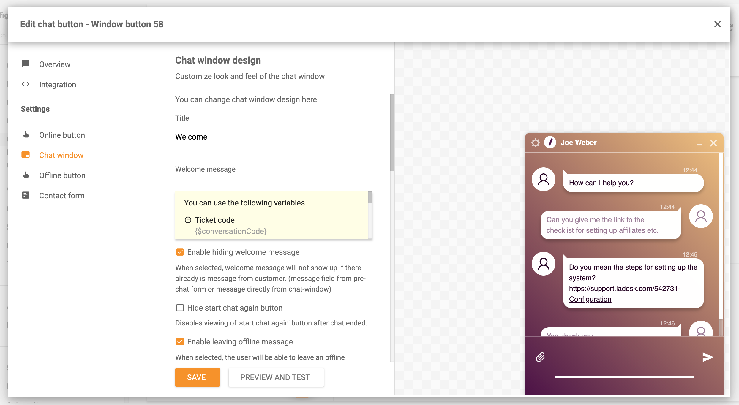Chat-window-settings-LiveAgent