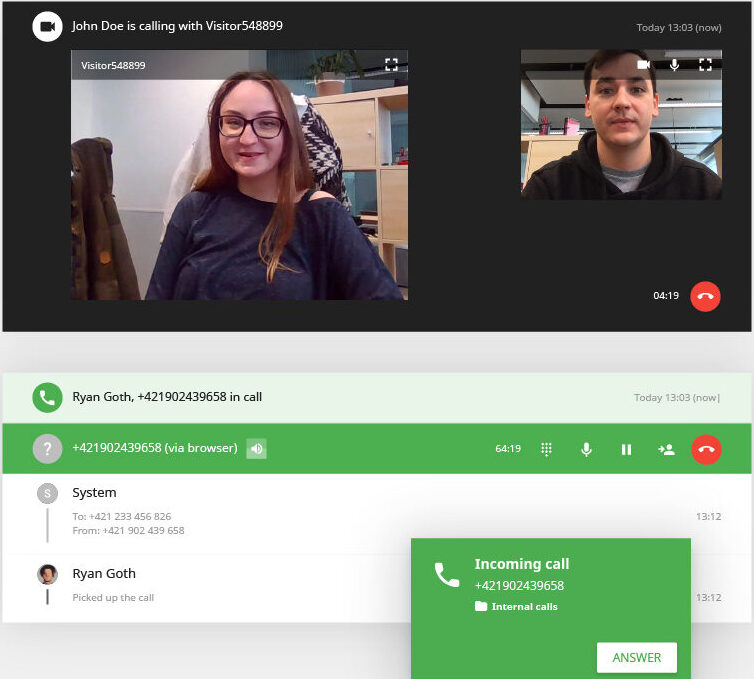 Customer-empathy-Video-Call-feature-LiveAgent-