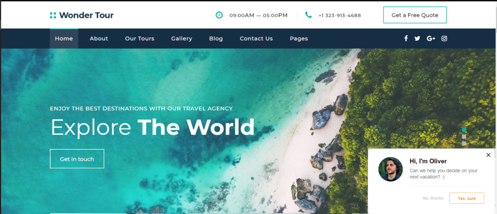 Live Chat For Travel And Accommodation Industry