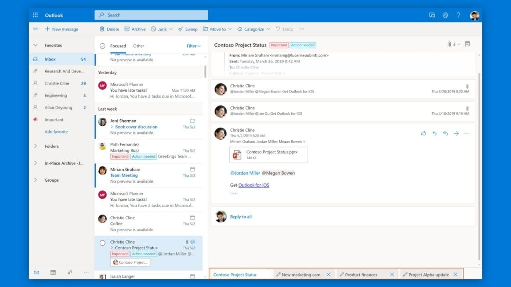 outlook email alternative