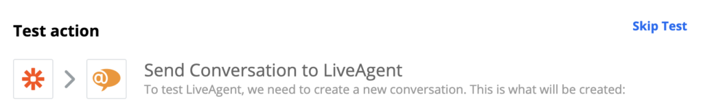Jira and LiveAgent integration test on Zapier