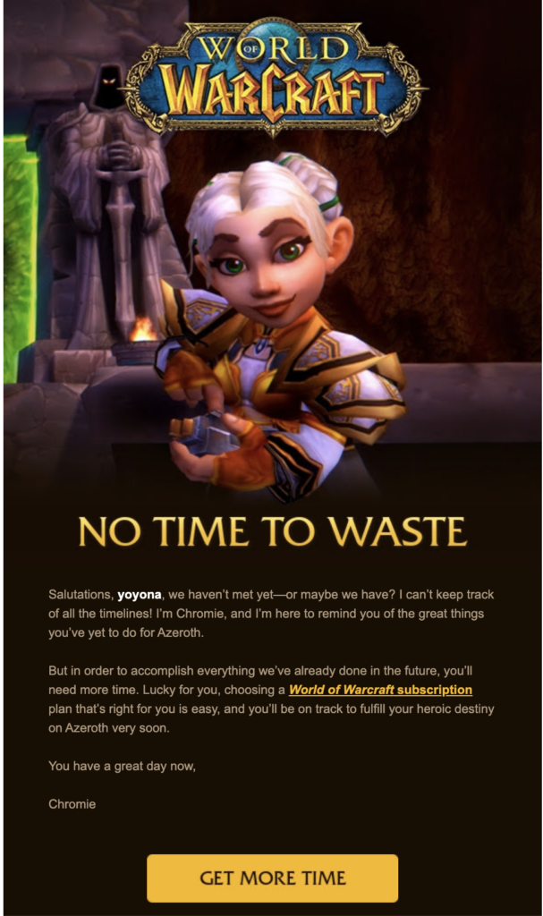renewal email template blizzard