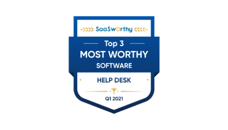 saasworthy the most worthy help desk software in 2021