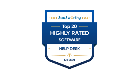 The highly rated help desk software in 2021
